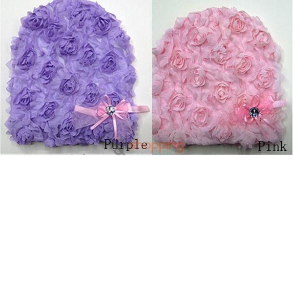 Ianthe Chiffon Flower Floppy Hat