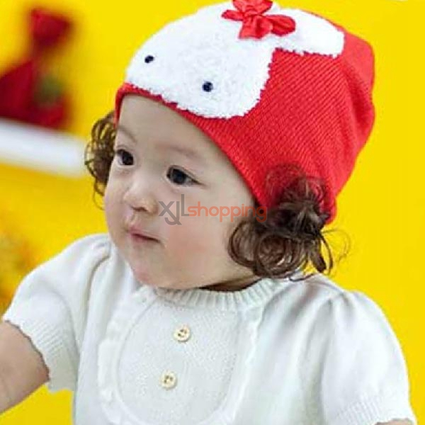 Rabbit+wig cap for Children