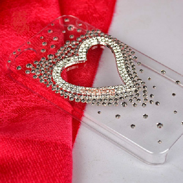 Material package: alloy silver heart-shaped accessories + some small ...
