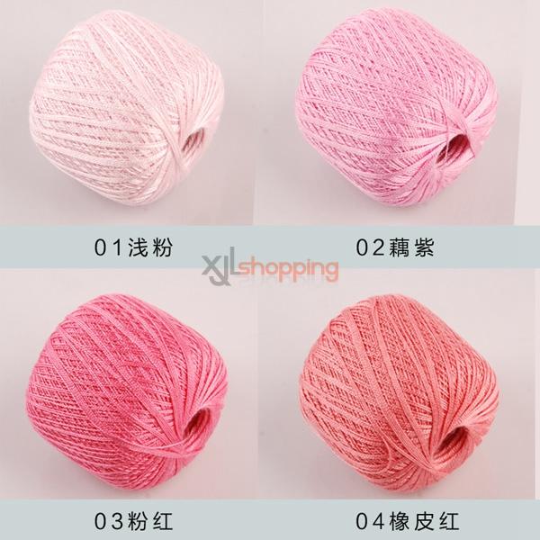 Lace yarn: crochet cotton yarn, silk Linen yarn [lace-yarn